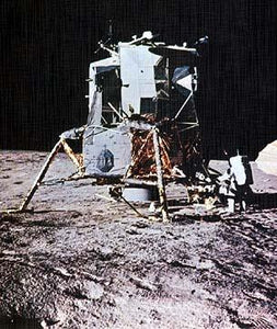 Lunar Module On Moon Memorabilia