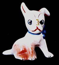 Occupied Japan Porcelain Puppy