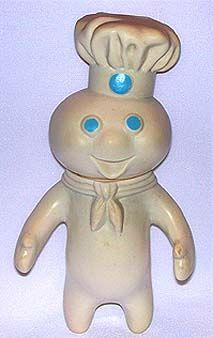 (Rare) Genuine Pillsbury Dough Boy Memorabilia