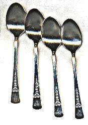 Dorianne Silver Plated Demitasse Spoons