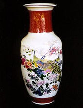 Load image into Gallery viewer, Beautiful Hand Painted Satsuma Vase