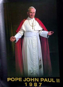 His Holiness Pope John Paul II, 1987