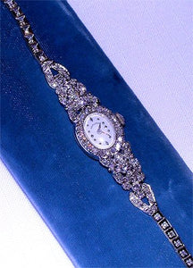 Ladies Diamond Hamilton Watch