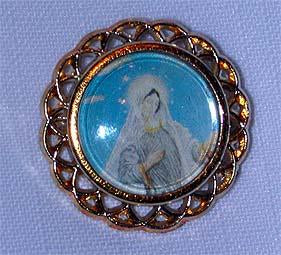 Medjugorje Blessed Mother Pin