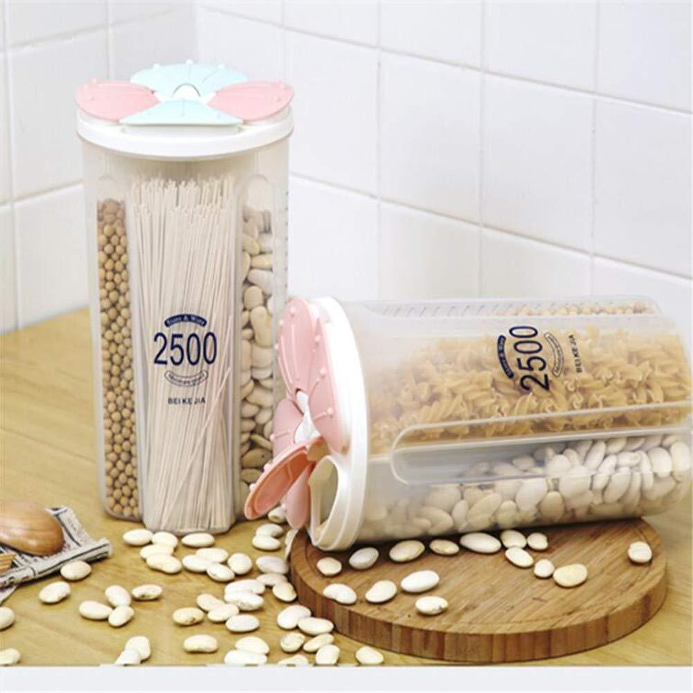 Rotating Kitchen Dry Food Storage Container