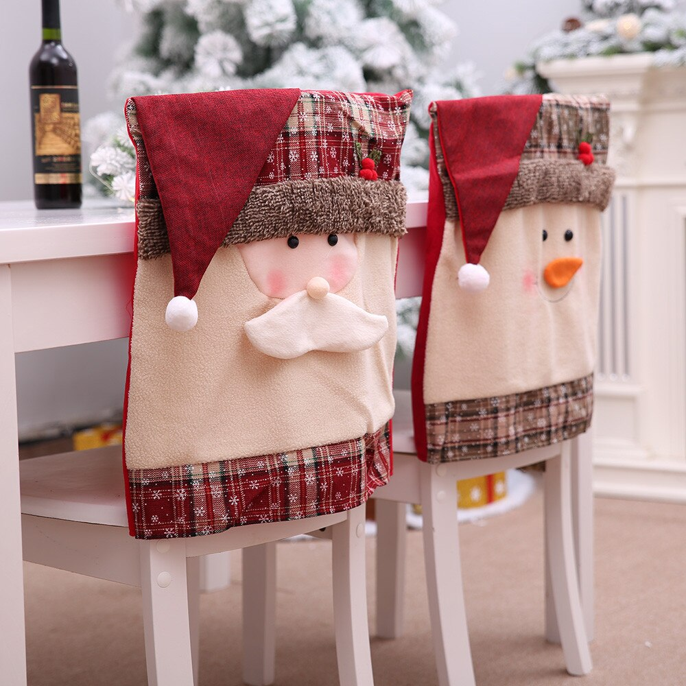 Kitchen Table Embroidered Chair Covers
