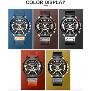 Open image in slideshow, Curren Luxury Watch