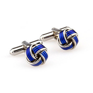 Open image in slideshow, Bold Knot Cufflinks
