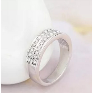 Double Band Eternity Ring