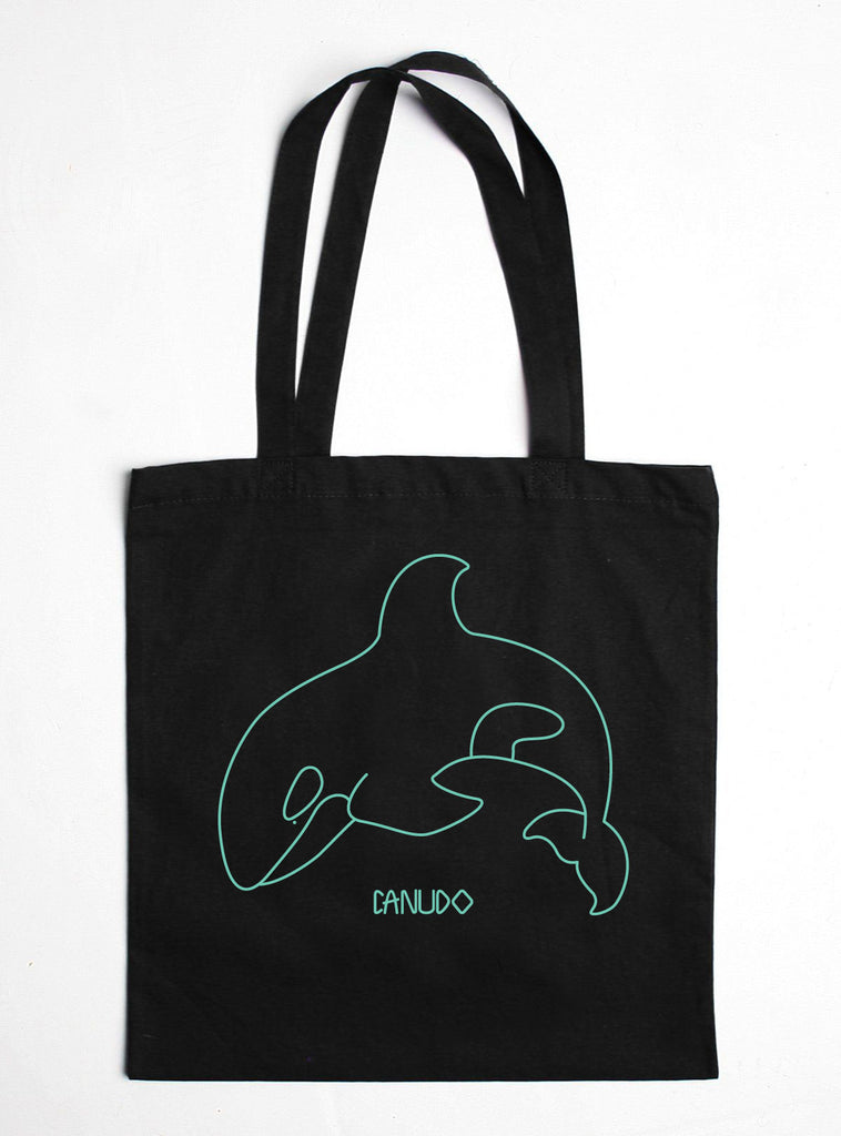 ORCA COTTON TOTE BAG
