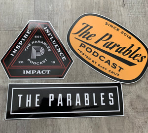 THE PARABLES DECAL PACK
