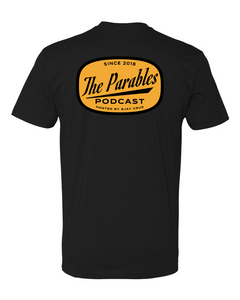 THE PARABLES MODERN TEE - BLACK
