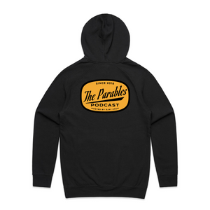 THE PARABLES MODERN HOODIE - BLACK