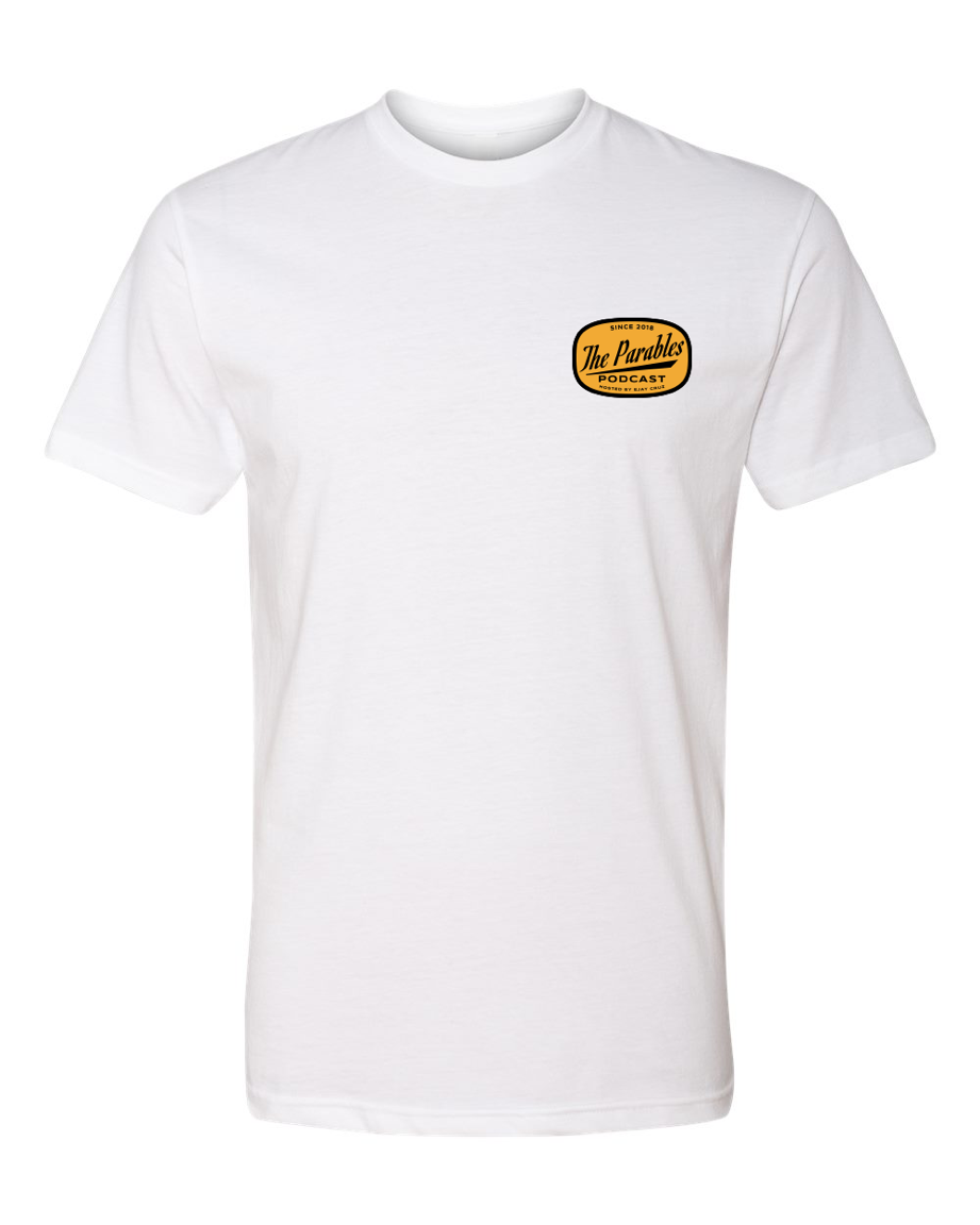 THE PARABLES MODERN TEE - WHITE