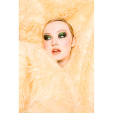Load image into Gallery viewer, Adeline Faux Fur Coat - Cream - Made To Order