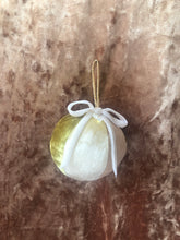 Load image into Gallery viewer, No Wallflower Project velvet Christmas Bauble in Shades of Gold