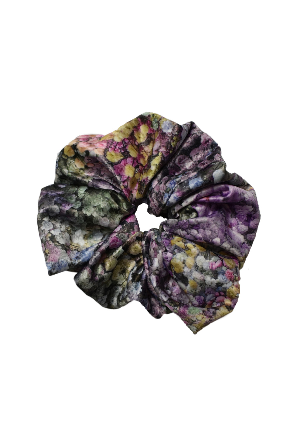 No Wallflower Project Rainbow Gypsophila Satin Scrunchy