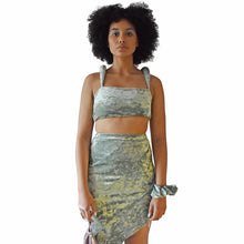 Load image into Gallery viewer, Padded Shoulder Bodice - Sage - Made To Order