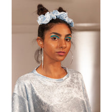 Load image into Gallery viewer, No Wallflower Project Baby Blue Scrunchy