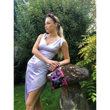 Load image into Gallery viewer, No Wallflower Project Velvet Evelyn Dress Lilac