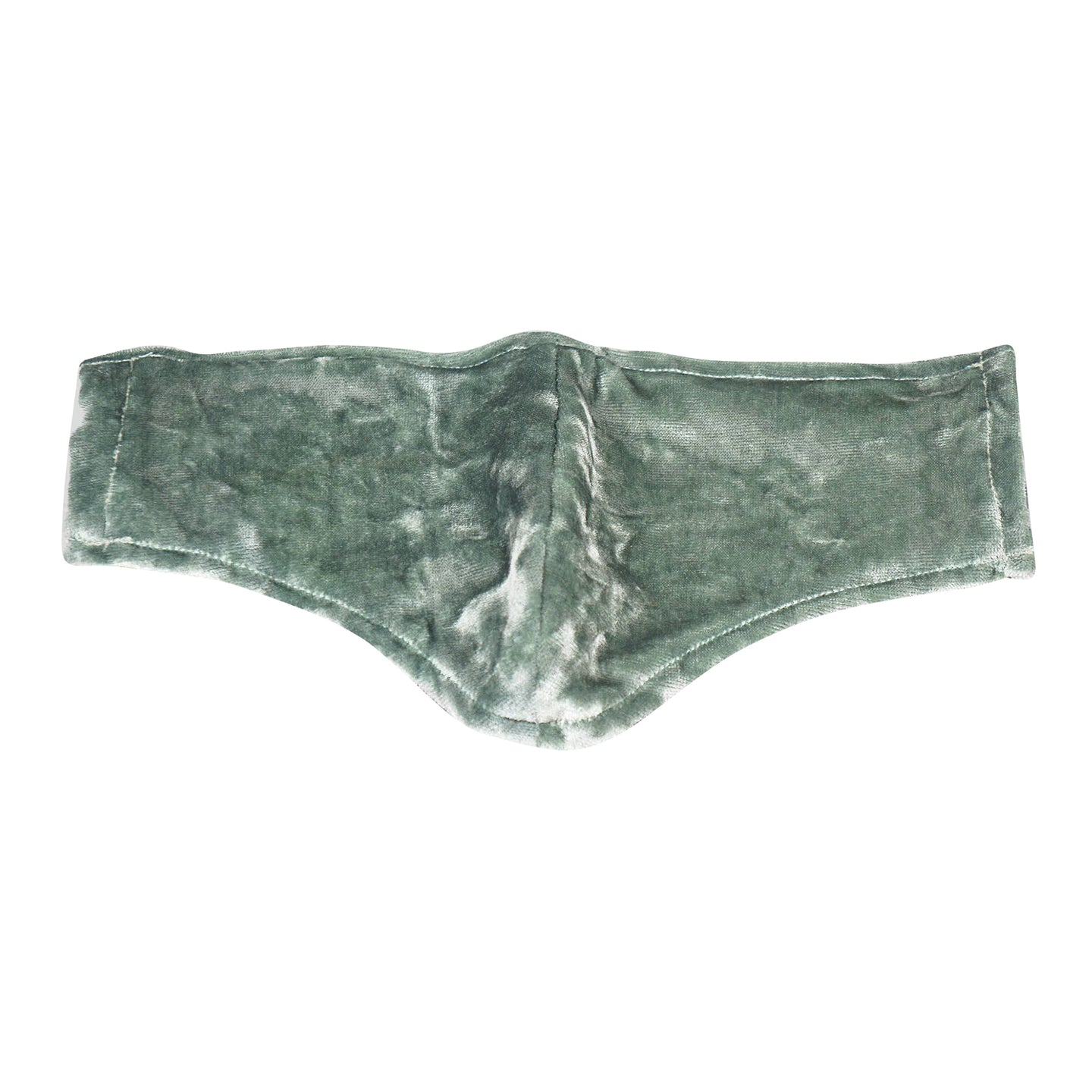No Wallflower Project Velvet Face Mask Sage Green