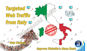 Italy Targeted Website Traffic - elitesmm.shop
