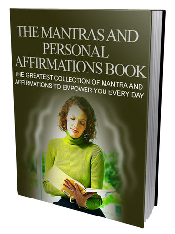 The Mantras and Personal Affirmations Book - elitesmm.shop