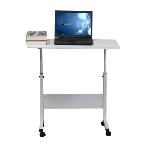 Removable Chipboard & Steel Side Table with Baffle 31.5