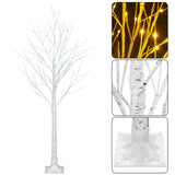 Snowflake Christmas Tree with Lamp(LED) (4FT 48LED)(5FT 72LED)(6FT 96LED)