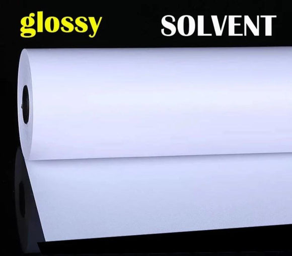 Canvas Roll-Polyester glossy for eco solven-scratch resistance Surface 36