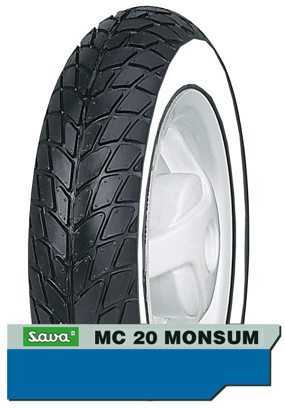 Buitenband 120/70-11 Sava MC20 White wall
