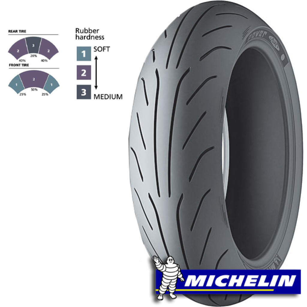 Buitenband 120/70-12 Michelin Power Pure