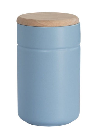 Maxwell and Williams Blue Tint Canister