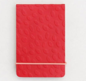 Caroline Gardner Red Embossed Jotter Notebook