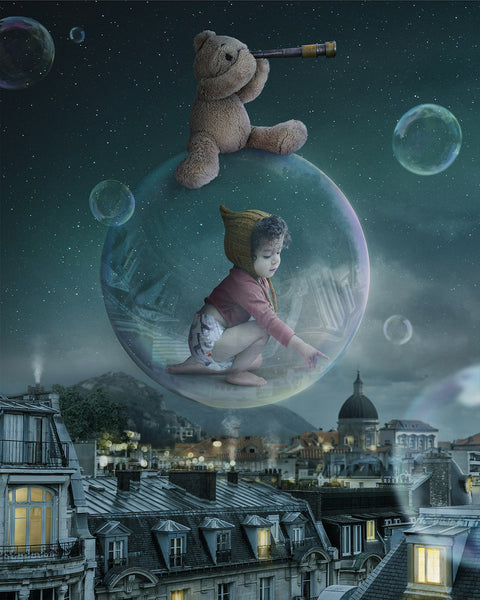 """Adventure Bubble"" - Fine Art Print"