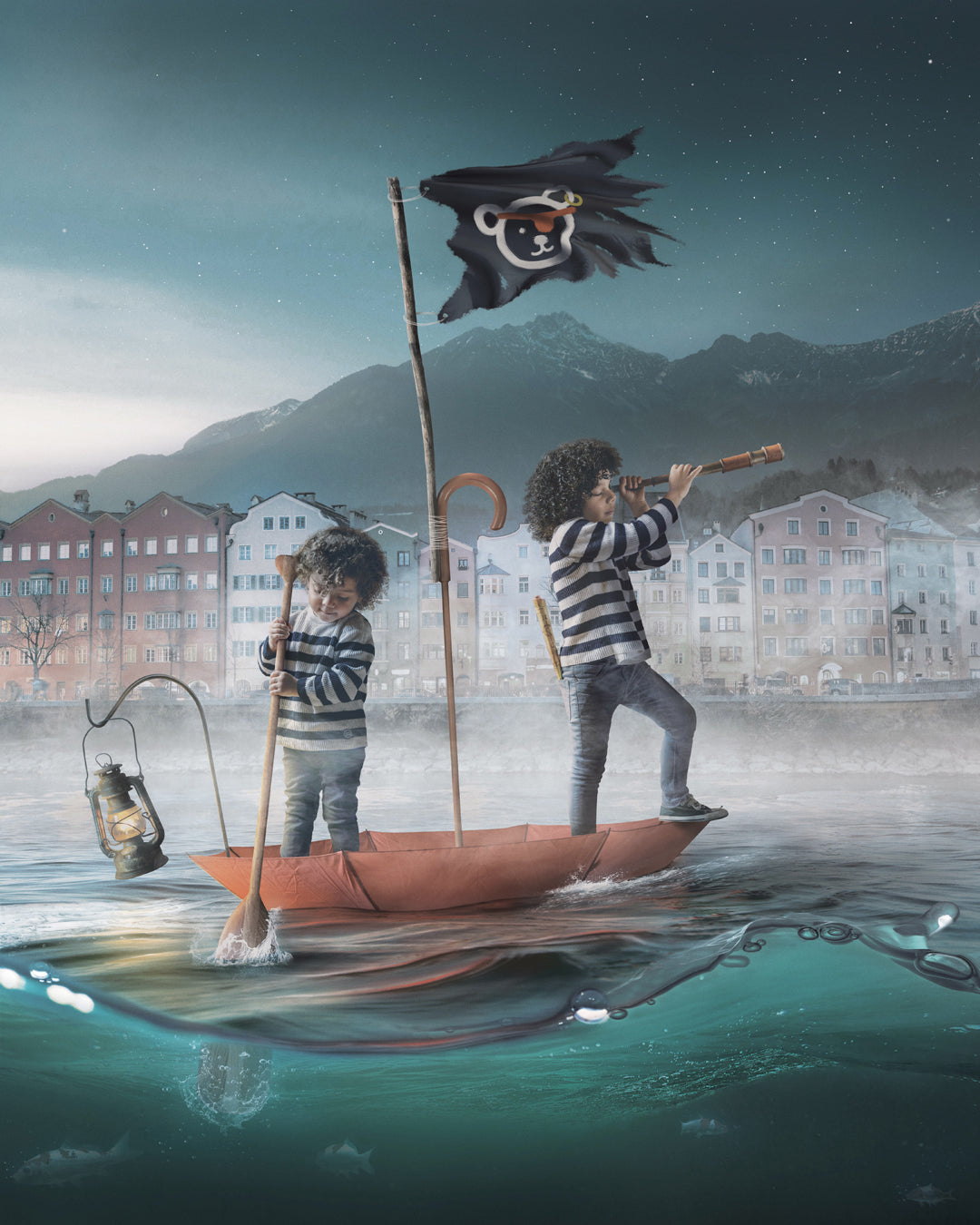 """Pirates of Innsbruck"" - Photoshop Tutorial"