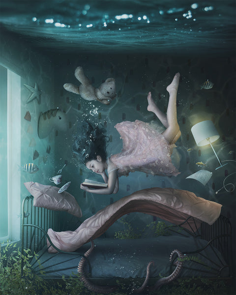 """Deep Fear"" - Fine Art Print"