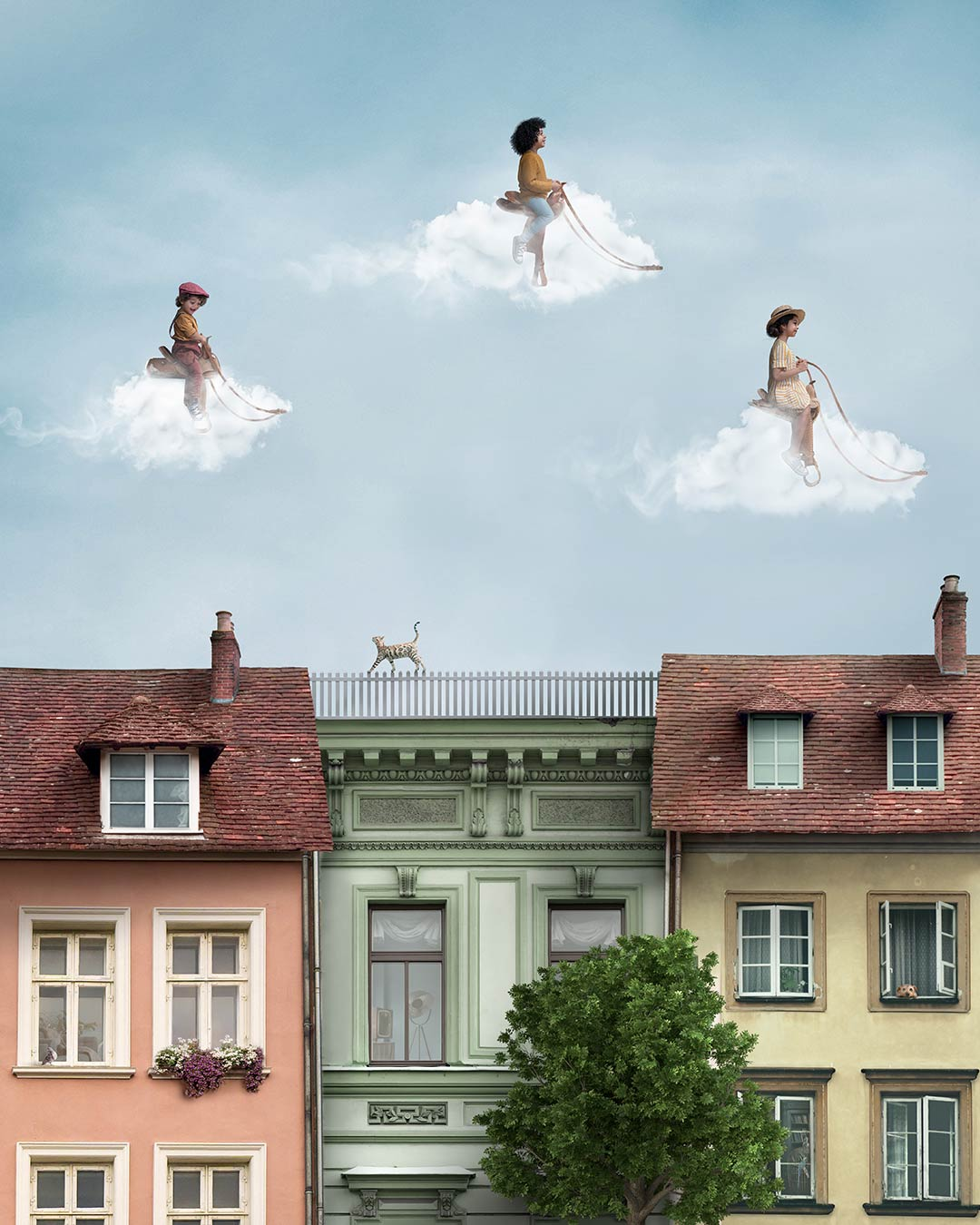 """Cloud Riders In Vienna"" - Photoshop Tutorial"