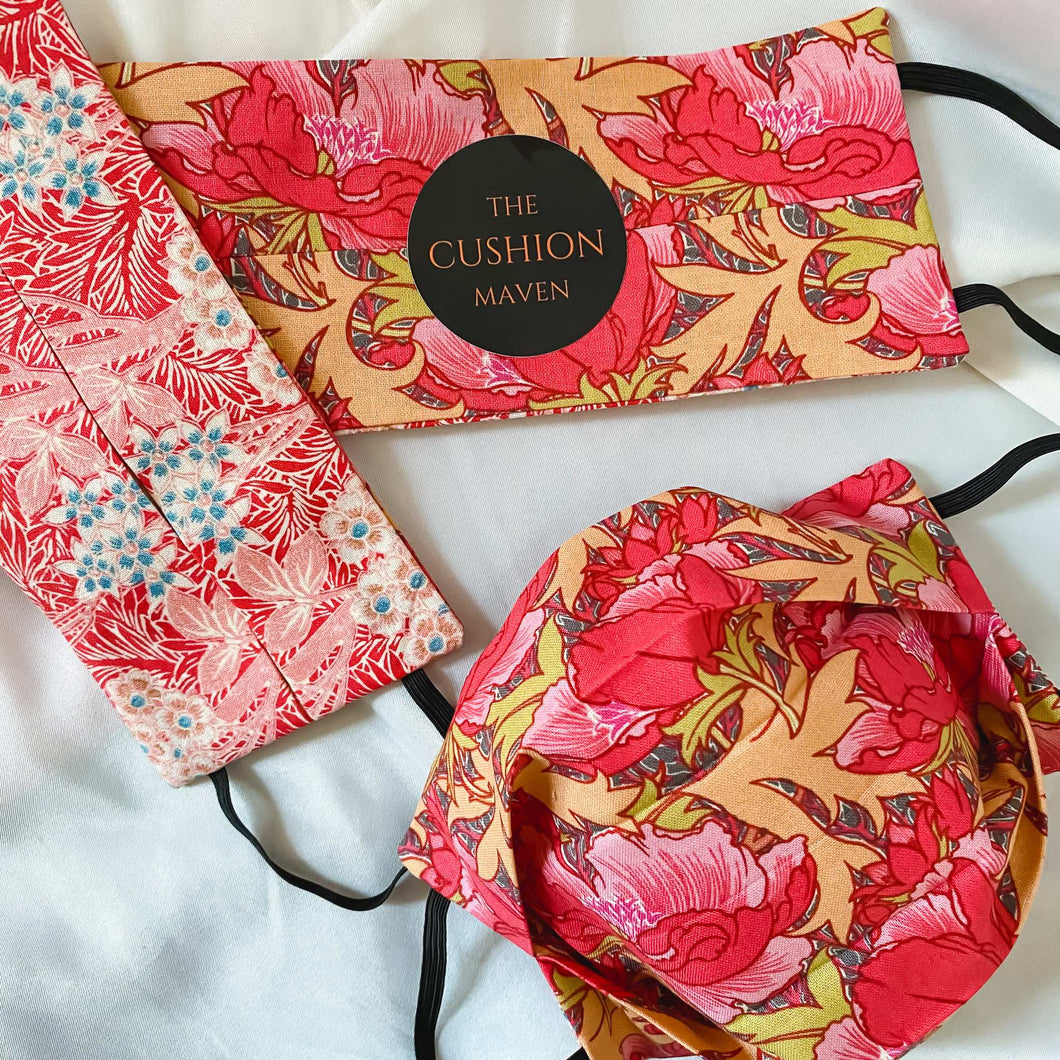 Reversible & Reusable V&A Cotton Face Mask,