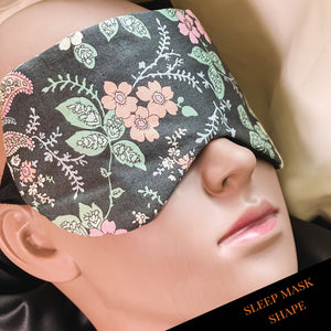 Handmade sleep mask by The Cushion Maven