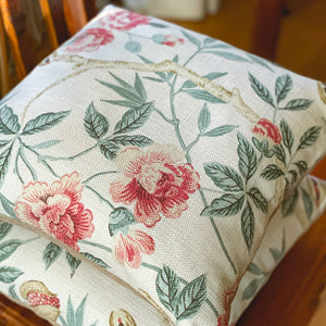 Handmade cushion - Woven Sanderson Abbeville (Sold as a Trio) cushion -
