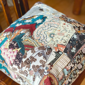 Handmade cushion - Eastern design cushion -