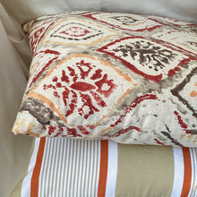 Load image into Gallery viewer, Handmade cushion - Arabesque design cushion -