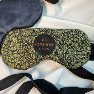 "Sleep Mask / Eye Mask in pure cotton, ""Phantom Of The Opera"""