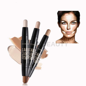 2 in 1 Contour Highlighter Pen