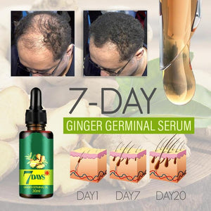 Natural Ginger Hair Growth Serum