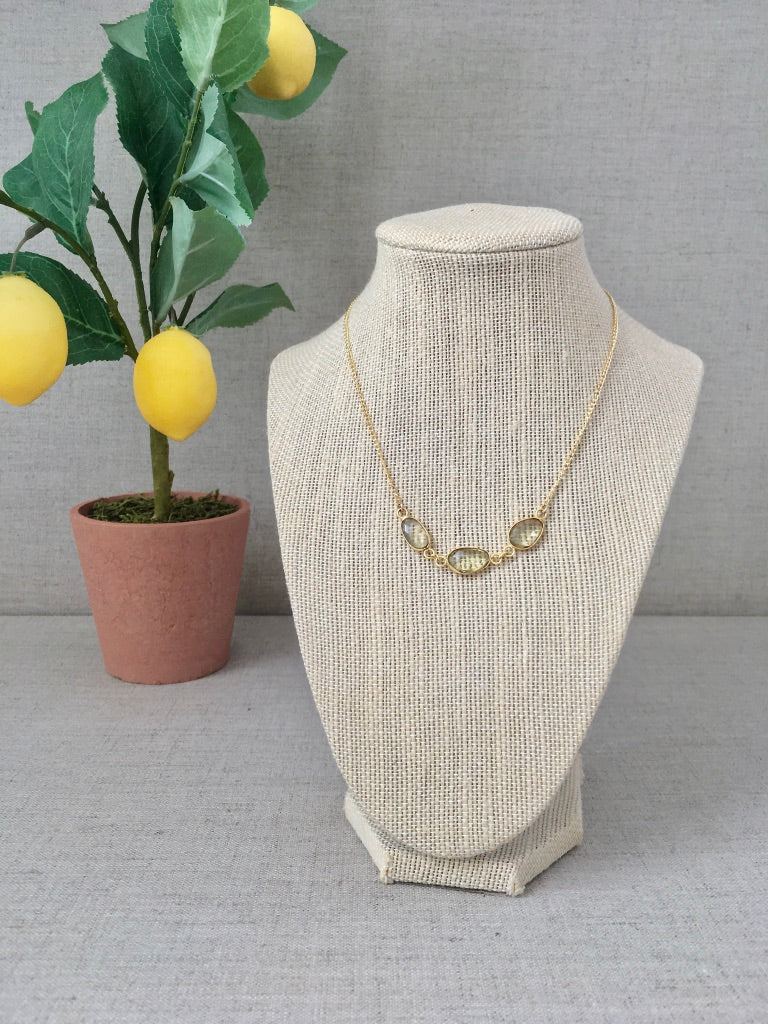 An Olive Branch Necklace