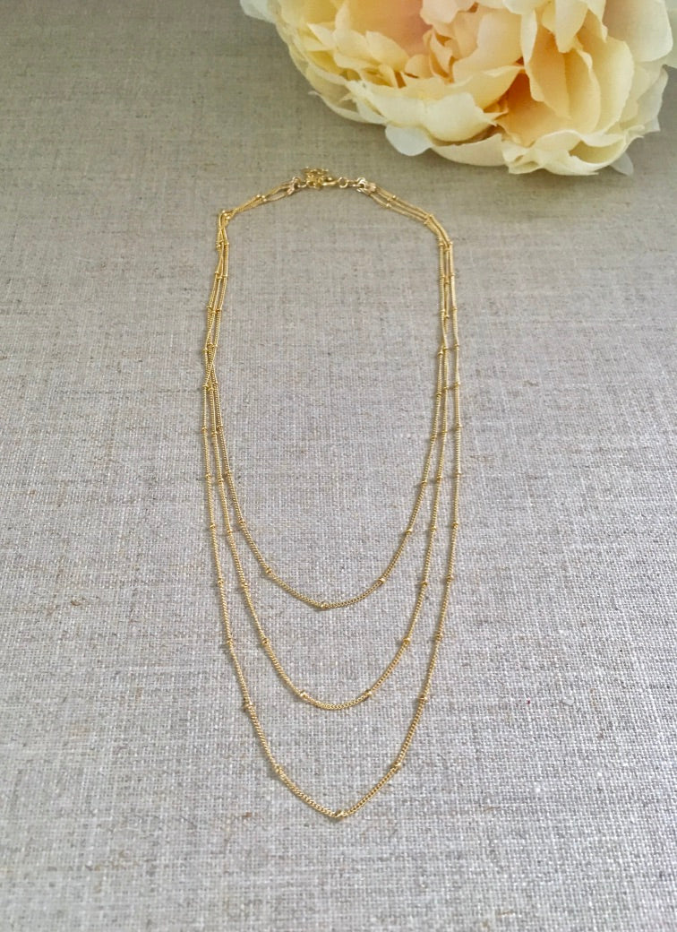 Sun Drenched in Sorrento Necklace - Christiana Layman Designs