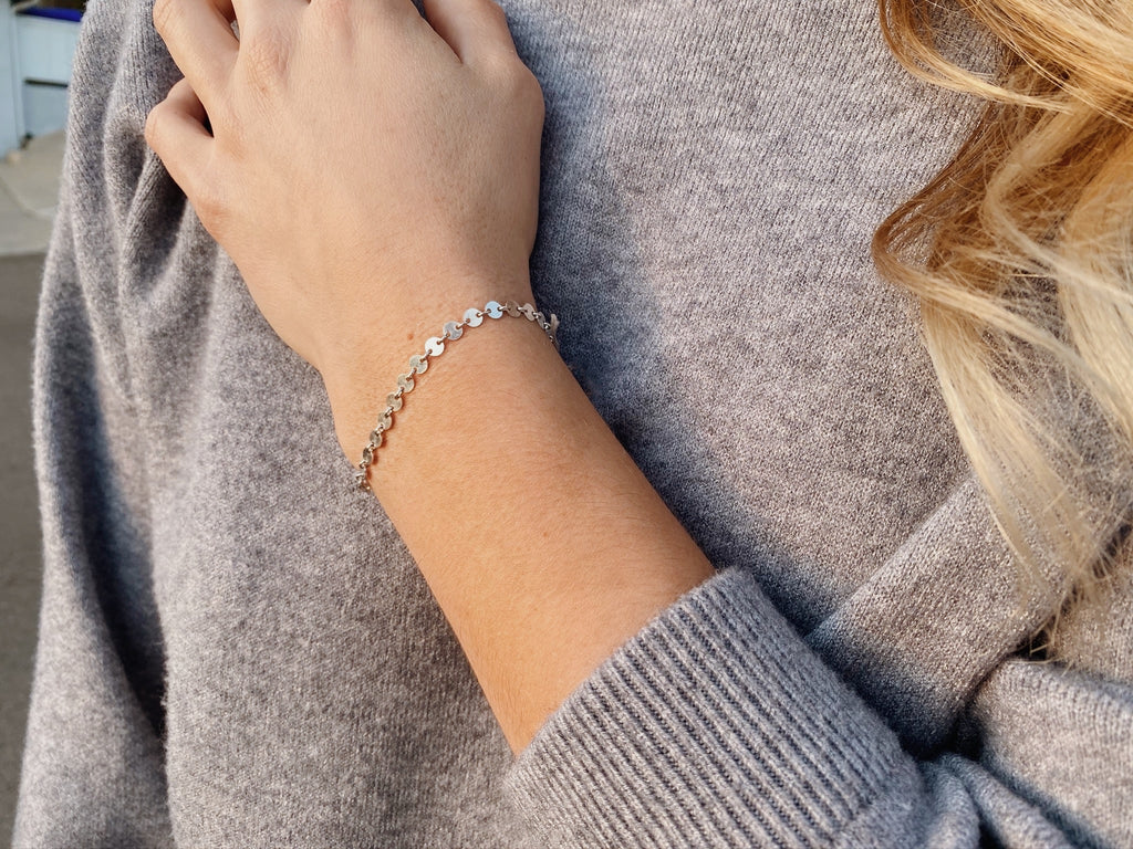 The Serafina Bracelet in Silver