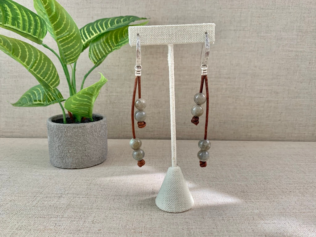 Down to Earth Earrings - Christiana Layman Designs